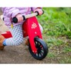 Kinderfeets Tiny Tot Toddler No Pedal Starter Balance Bike Tricycle, Red - image 3 of 4