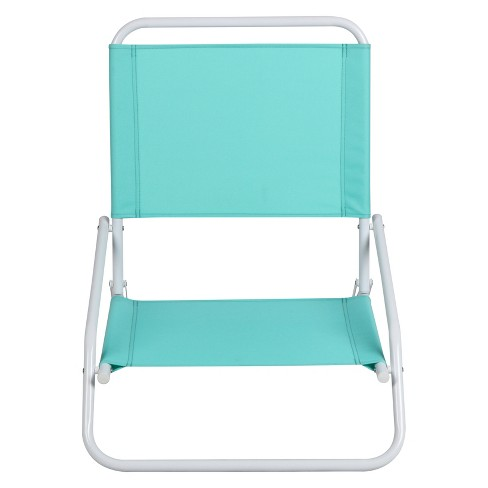 Outdoor Portable Chair - Turquoise - Evergreeen - image 1 of 2