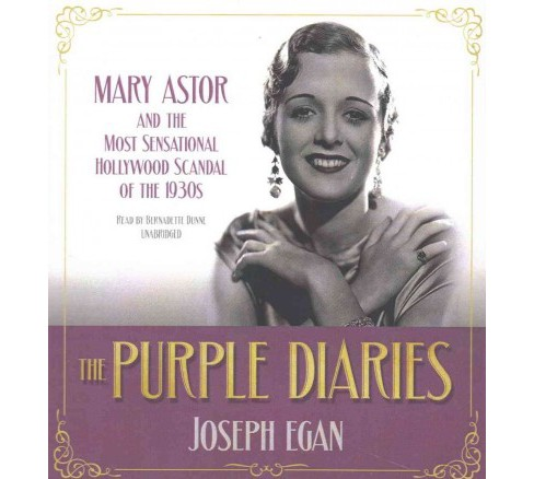 Purple Diaries : Mary Astor and the Most Sensational Hollywood Scandal of the 1930s (Unabridged) - image 1 of 1