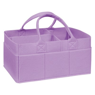Trend Lab Felt Storage Caddy - Lavender