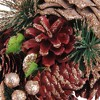 """Northlight 13.75"""" Unlit Dusty Rose Pine Cones and Berries Artificial Christmas Wreath - image 3 of 3"""