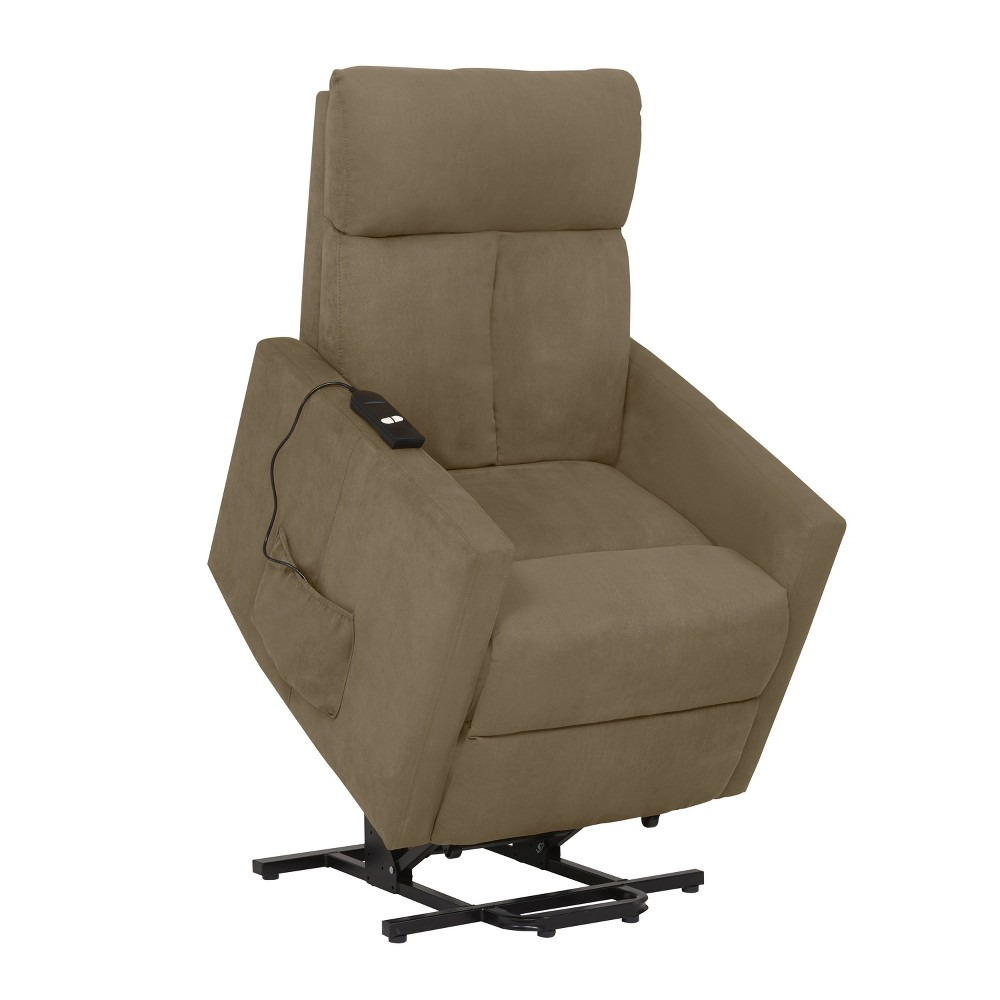 Image of Power Lift Chair Recliner - Sage Gray- Prolounger, Green Gray