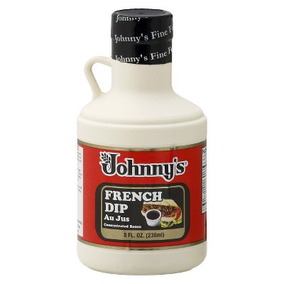 Johnny's French Dip Concentrated Au Jus Sauce - 8 fl oz
