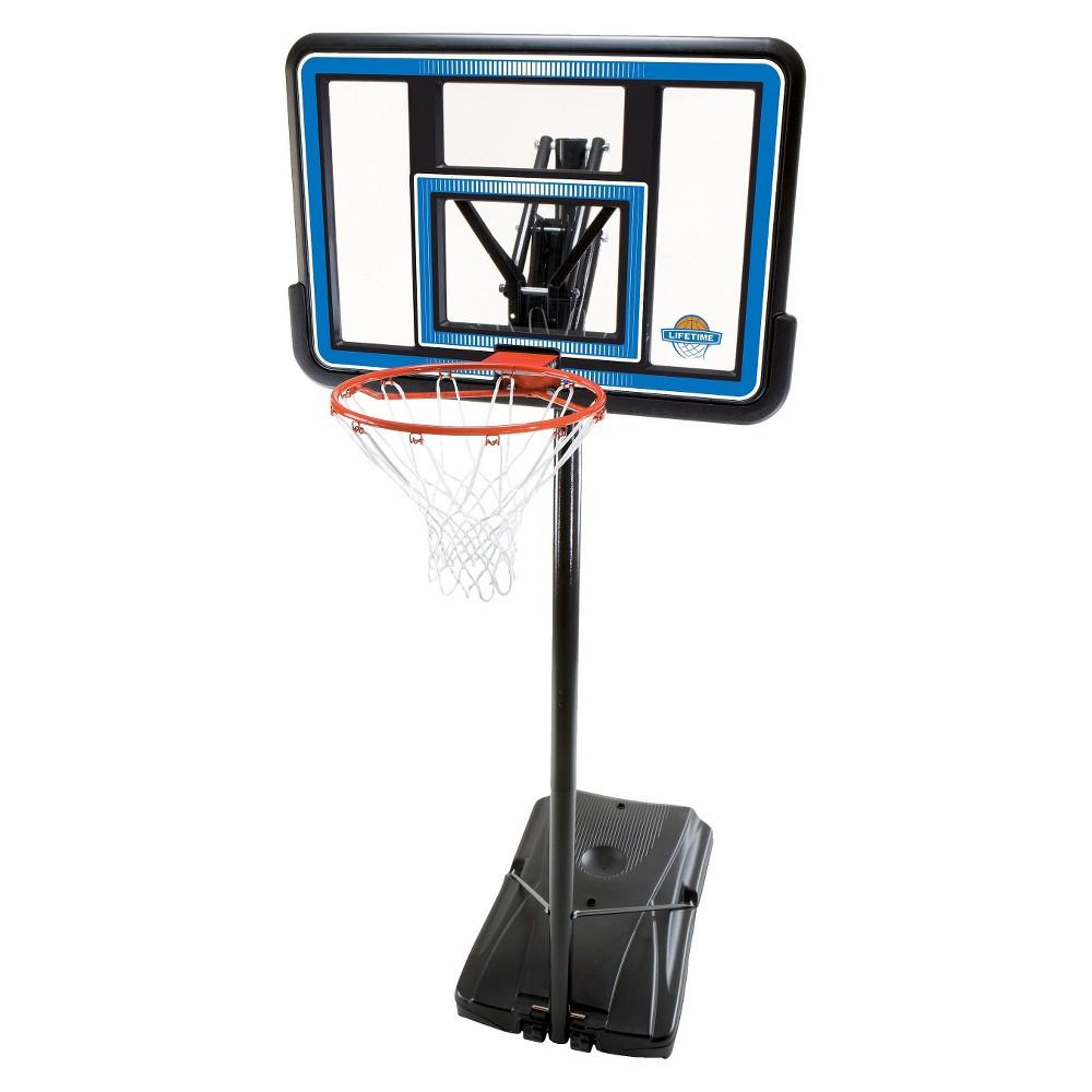 Lifetime 44 Quick Adjust Portable Basketball Hoop