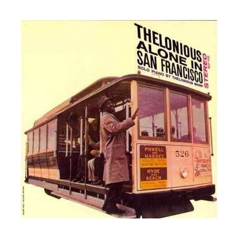Thelonious Monk - Alone In San Francisco (CD) - image 1 of 1