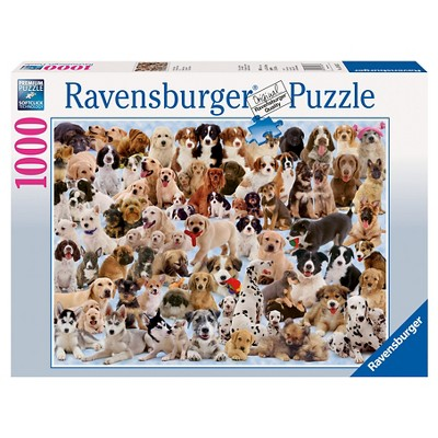Ravensburger Dogs Galore Jigsaw Puzzle - 1000pc