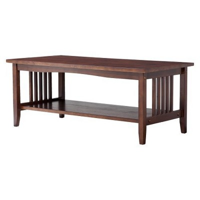 Mission Coffee Table Espresso - Linon