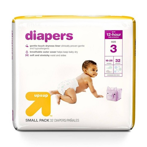 Diapers - Up&Up™ - (Select Size and Count) - image 1 of 4