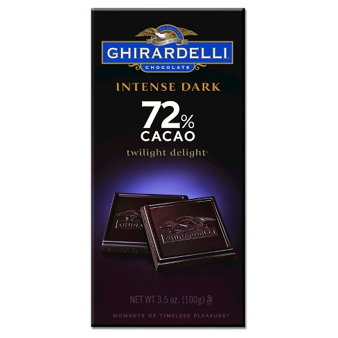 Ghirardelli Intense Dark 72% Cacao Chocolate Bar - 3.5oz - image 1 of 1