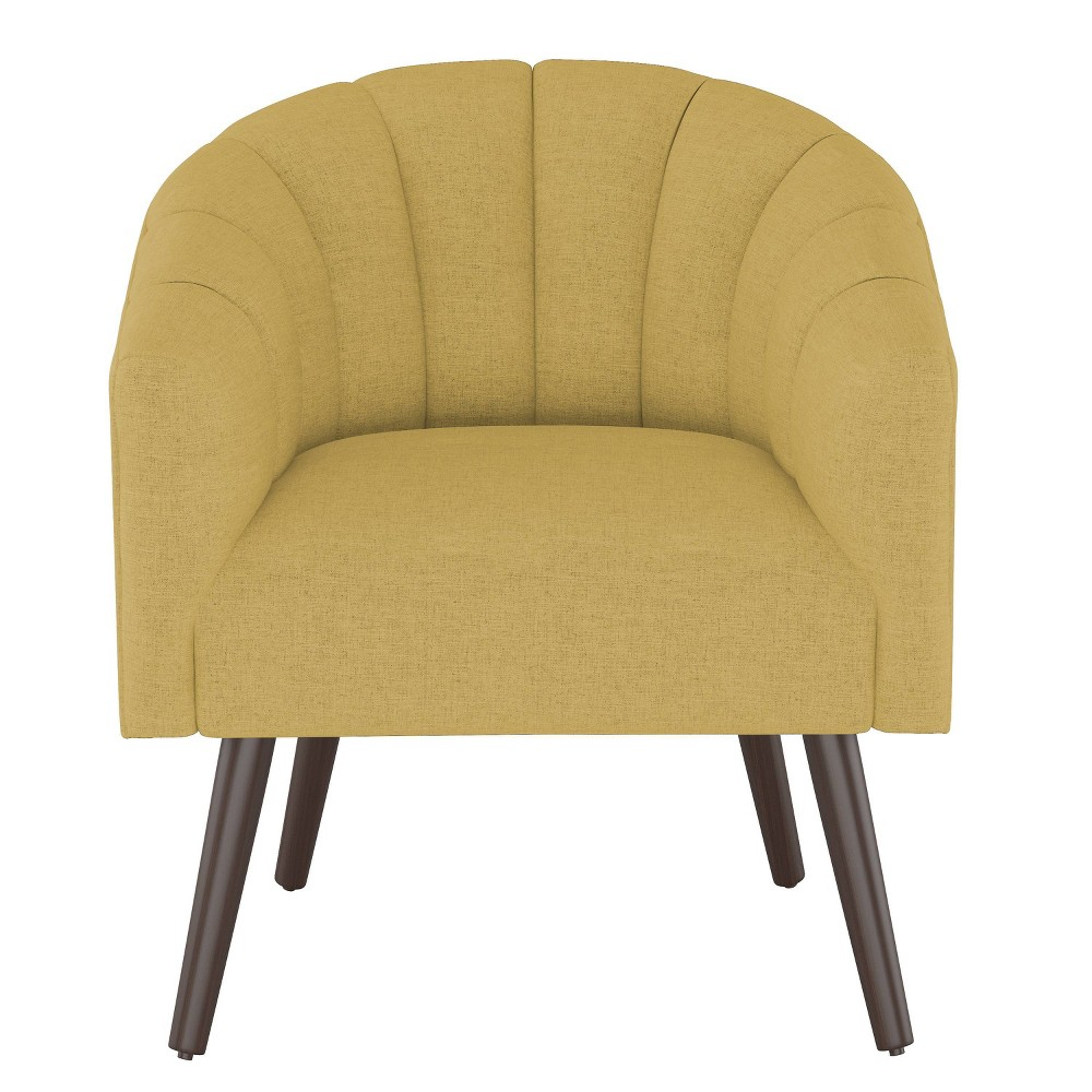 Modern Barrel Chair in Zuma Gold - Project 62