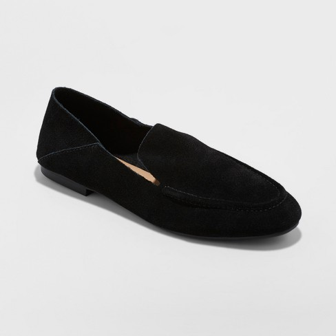 7a2ec3d84a7 Women s Jisela Collapsible Back Loafers - A New Day™ Black 6.5   Target