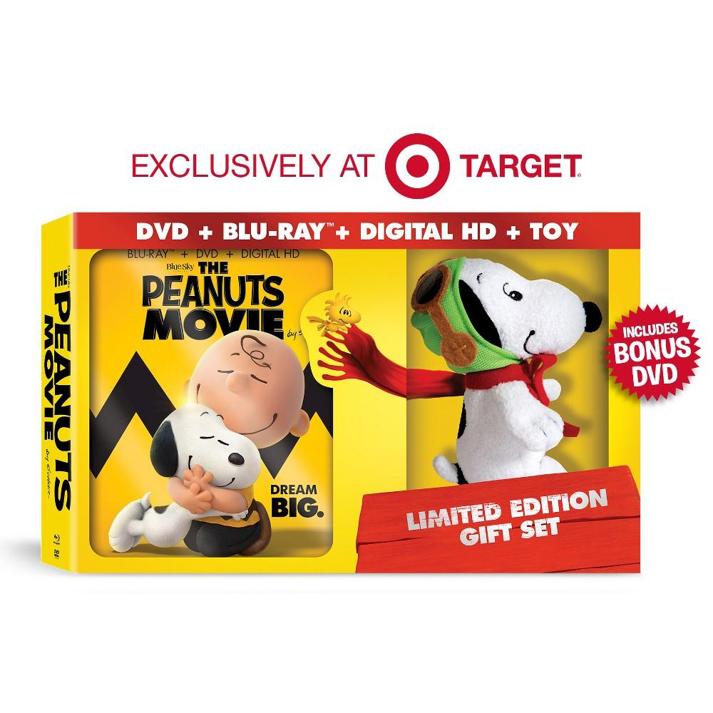 The Peanuts Movie (Blu-ray/Dvd) (Includes Digital Copy)(Gift W/ Plush + Bonus Disc) (W) (Widescreen) - Target Exclusive