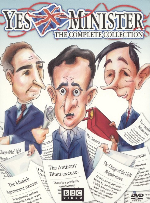 Yes minister: the complete collection (DVD) - image 1 of 1
