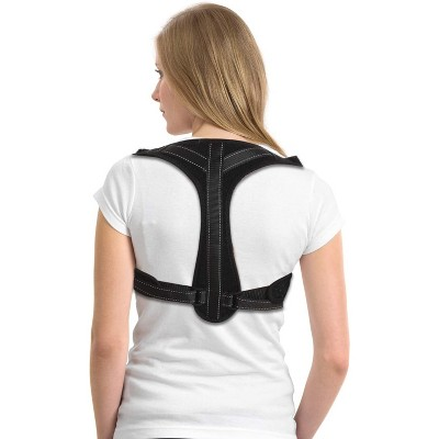 Dartwood Posture Corrector, Adjustable Back Brace Straightener and Spine Support for Muscle Pain and Ache