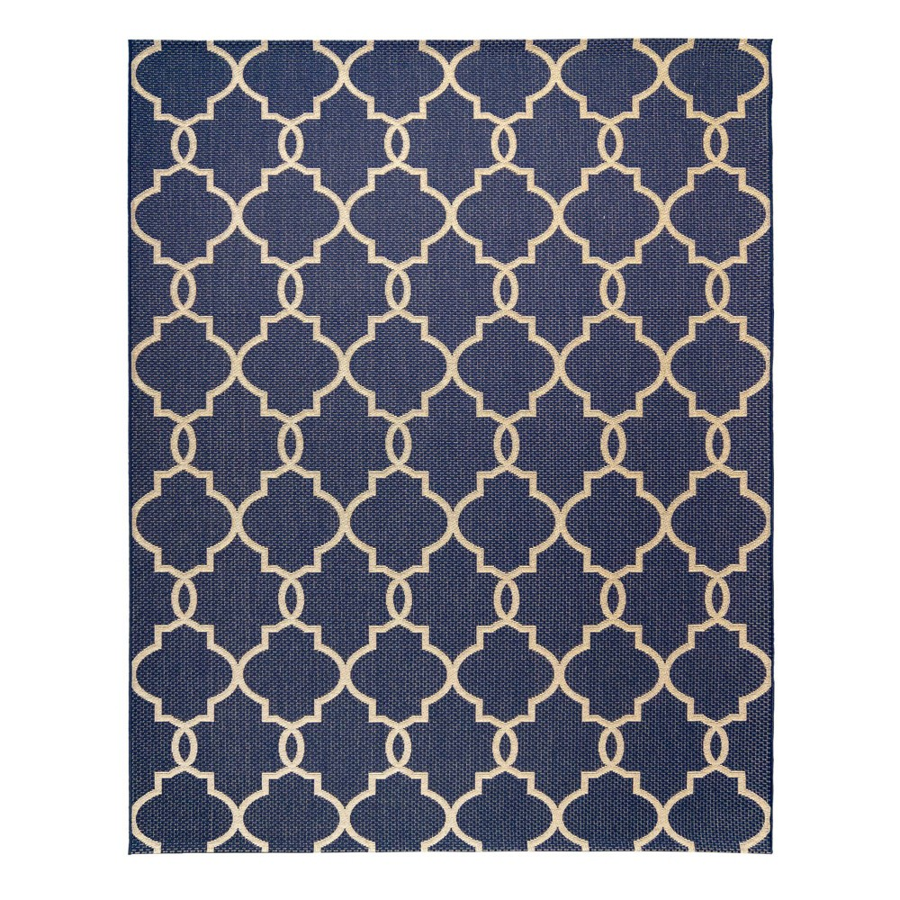 Image of 5'x7' Loire Outdoor Rug Navy - Studio by Brown Jordan