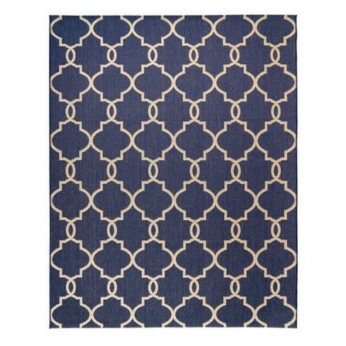 Loire Outdoor Rug Navy - Studio by Brown Jordan - image 1 of 3