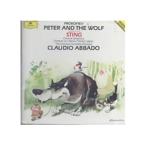 Prokofiev - Prokofiev: Peter and the Wolf, etc / Sting, Abbado (CD) - image 1 of 1