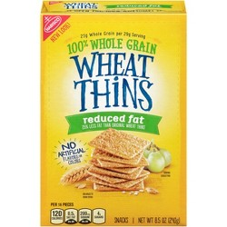 Wheat Thins Reduced Fat Crackers - 8.5oz
