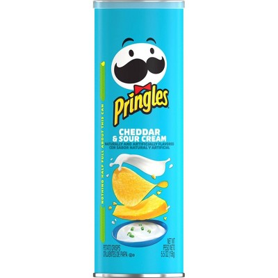 Pringles Cheddar & Sour Cream Potato Crisps Chips - 5.5oz