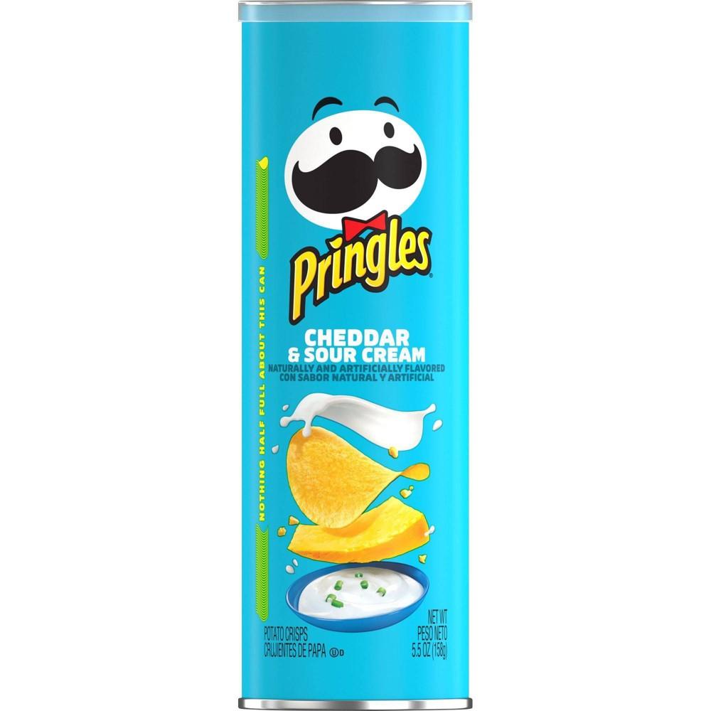 Pringles Cheddar 38 Sour Cream Potato Crisps Chips 5 5oz
