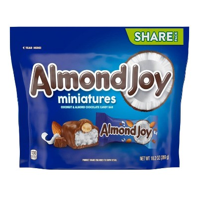 Almond Joy Miniature Chocolates - 10.2oz