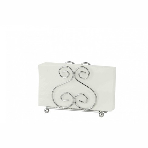 Home Basics Scroll Collection Chrome Plated Steel Napkin Holder - image 1 of 4