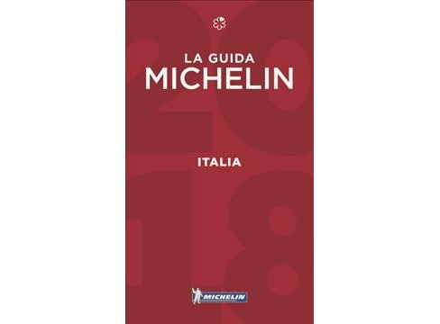 Michelin Red Guide 2018 Italia / Michelin Red Guide 2018 Italy -  (Paperback) - image 1 of 1