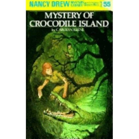 Mystery of Crocodile Island - (Nancy Drew (Hardcover)) by  Carolyn Keene (Hardcover) - image 1 of 1