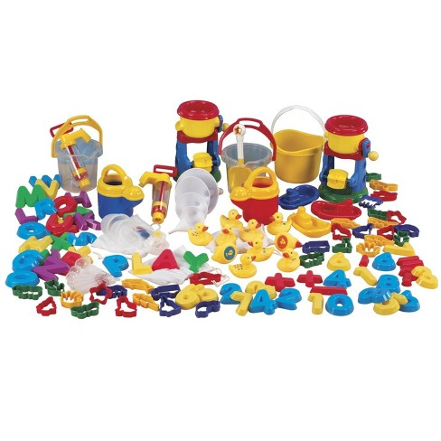 Childcraft Sand and Water Toys Play Package, Assorted Colors, 99 pc - image 1 of 1