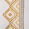 Global Border Curtain Panel White Yellow - Opalhouse™ - image 4 of 4