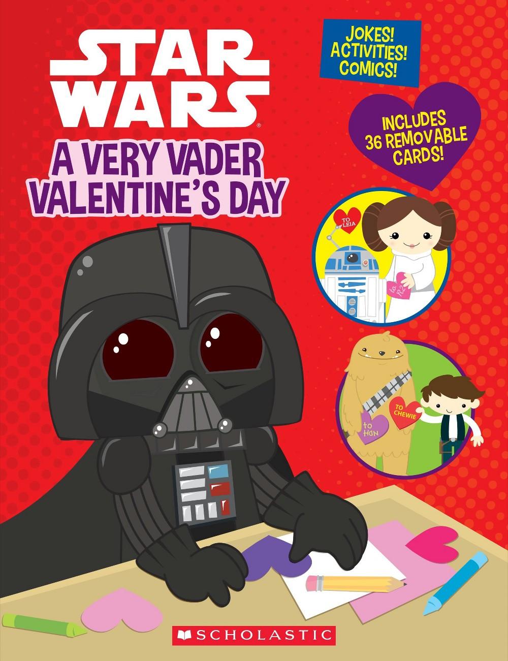 Star Wars Very Vader Valentine's Day (Paperback) (Trey King)