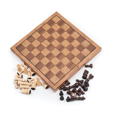 Wood Style Chess Board