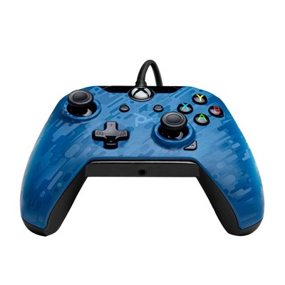 PDP Stealth Series Wired Controller for Xbox One - Revenant Blue