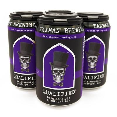 Taxman Qualified Belgian-Style Quadrupel Beer - 4pk/12 fl oz Cans