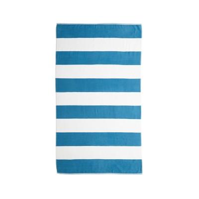 Caro Cabana Beach Towel Tropical Blue - Caro Home
