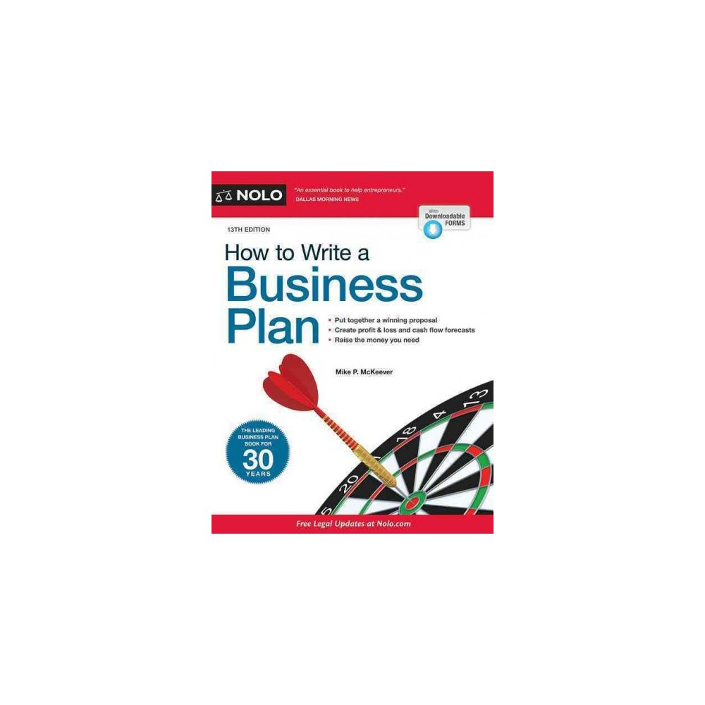 How to Write a Business Plan (Paperback) (Mike P. McKeever)