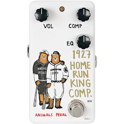 Animals Pedal 1927 Home Run King Compressor V2 Effects Pedal White