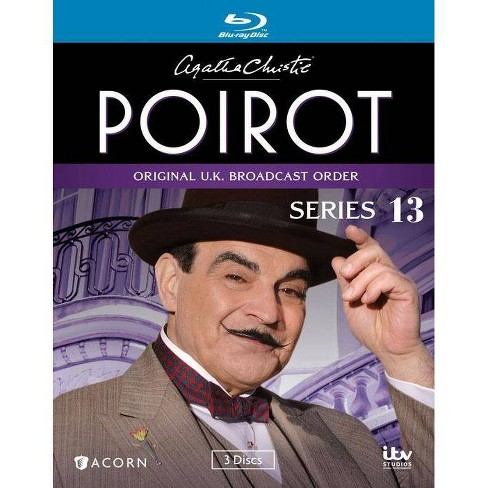 Agatha Christie S Poirot Series 13 Blu Ray 2014 Target
