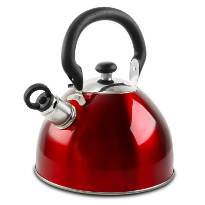 Mr. Coffee 1.8 Quart Morbern Tea Kettle in Red