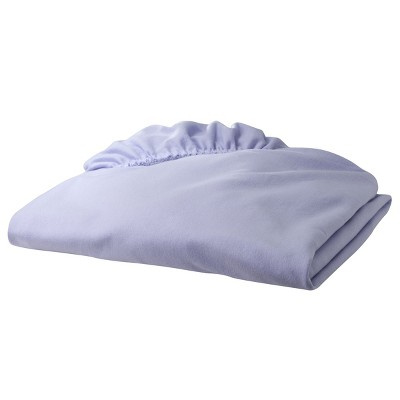 TL Care Jersey Cotton Fitted Crib Sheet - Lavender