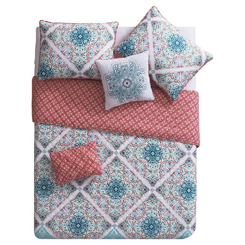 Windsor Diamond Pattern Multiple Piece Quilt Set - VCNY® - image 1 of 3