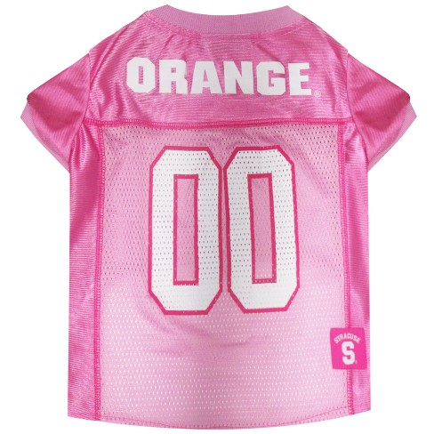 NCAA Pets First Syracuse Orange Pink Jersey - L - image 1 of 2
