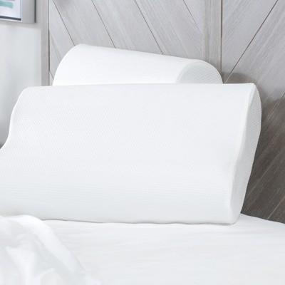 SensorPEDIC Classic Contour Memory Foam Bed Pillow 2 Pack
