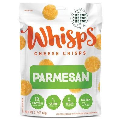 Whisps Parmesan Cheese Crisps - 2.12oz