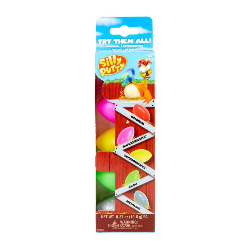 Image of Silly Putty Variety Pack 5ct
