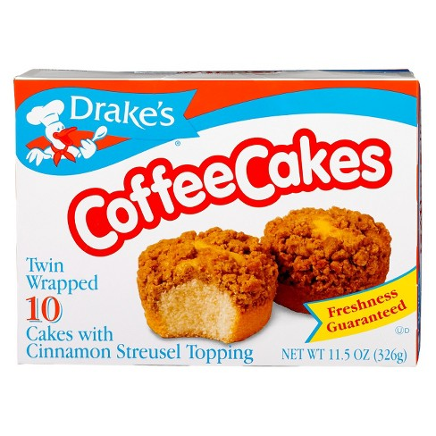 Drake's Coffee Cakes with Cinnamon Streusel Topping 11.5oz - image 1 of 1
