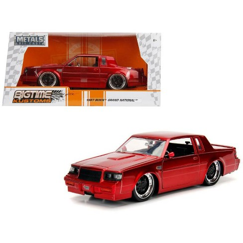 1987 Buick Grand National Candy Red 1/24 Diecast Model Car by Jada - image 1 of 4
