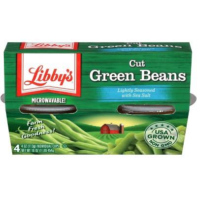 Libby's Cut Green Beans Cups - 16oz