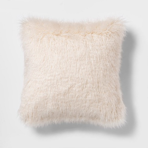 Mongolian Faux Fur Throw Pillow - Project 62™ - image 1 of 3