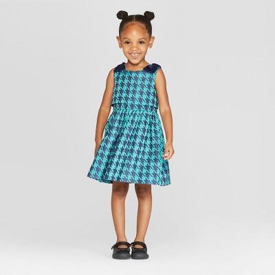 20c905d100d Toddler Girls  A-Line Dress - Cat   Jack™ Navy   Target